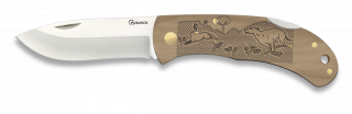 Pocket knife ALBAINOX. Wood. HARE 7.6cm