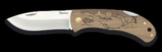 Pocket knife ALBAINOX. Wood WOLF 7.6 cm