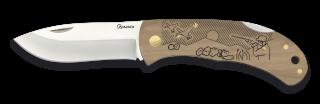 Pocket knife ALBAINOX. Wood HUNTER 7.6cm