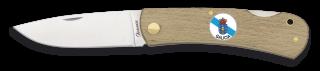 Pocket knife wood ALBAINOX + Galicia. 7.3 cm