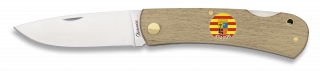 Navaja MADERA ALBAINOX + ARAGON. 7.3 cm