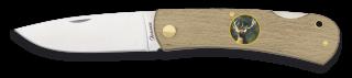 Navaja MADERA ALBAINOX + CIERVO. 7.3 cm