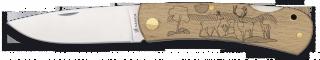 Pocket knife ALBAINOX. Wood DEER
