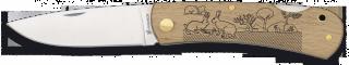 Pocket knife ALBAINOX. Wood RABBITS