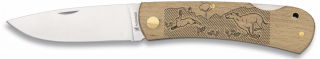 Pocket knife ALBAINOX. Wood HARE