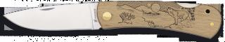 Pocket knife ALBAINOX. Wood WOLF