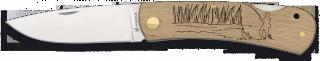 Pocket knife ALBAINOX. Wood FISHER