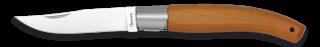 navaja madera con bloqueo. hoja: 8,5 cm