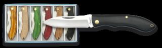 Set 6 pocket knives ALBAINOX. 6 cm