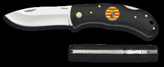 Navaja albainox m. negra+ARAGON. 7.6