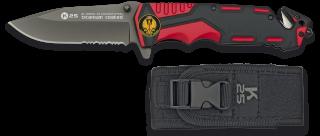 navaja roja/negra K25 seguridad.H:9.4