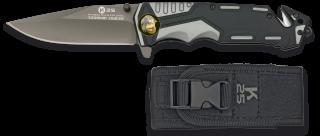 navaja gris / negra K25  seguridad.9.4