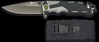 Navaja gris/negra K25i seguridad. H: 9.4