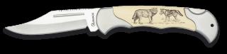 Navaja Albainox. Lobo. 8cm