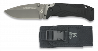 Tactical pocket knife. K25. Black