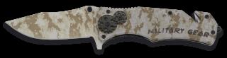 Albainox Military Gear penknife. Camo.