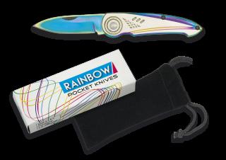 Rainbow pocket knife. Blade 6.2 cm