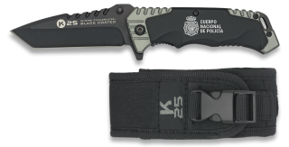 Tactical pocket knife RUI BLACK COATED