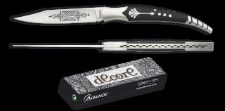 Laser design pocket knives