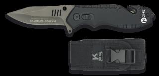 Navaja K25 rompe cinturones PRO. negra.