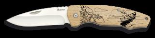 Pocket knife ALBAINOX wood.7.5 cm
