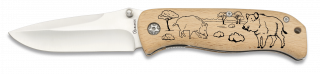 navaja ALBAINOX madera 8.5 cm