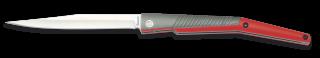 navaja Albainox aluminio roja. hoja 9 cm