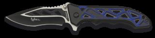 Navaja Albainox Azul/Negra. h: 9.2  FOS