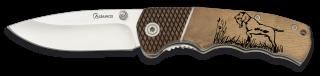 navaja Albainox cacha madera. hoja 7 cm