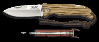 Pocket knife ALBAINOX IGUAZU zebra 9 cm