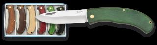 6 pocket knives set. ALBAINOX 7.3 cm