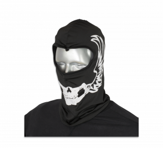 Balaclava BARBARIC. Black patterned