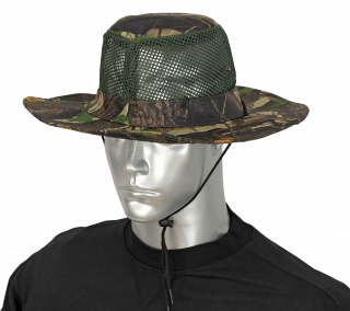 Boonie hat with mosquito net BARBARIC. Tree green
