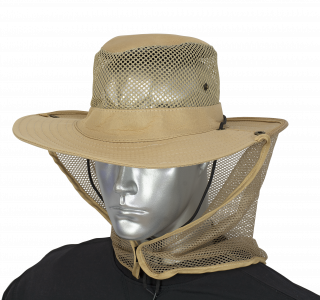 Boonie hat with mosquito net BARBARIC. Coyote