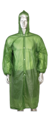 Chubasquero impermeable Verde.