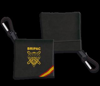 Portamascarilla BRIPAC Negro Bandera