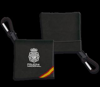 Portamasca. Policia Nacional Negro Band.