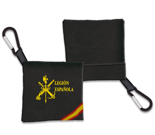 Portamascarilla Legion Españolal Negro B