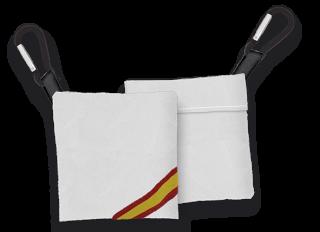 Portamascarilla Blanco TNT con bandera