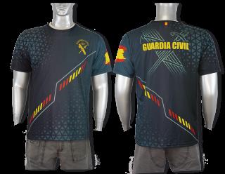 Barbaric sublimate t-shirt. Spanish G.C.