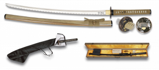 Katana with box presentation