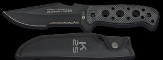 Cuchillo K25.Funda.Hoja:13.5 cm