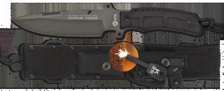 Cuchillo K25 TACTICO.SFL.Funda. 16 cm