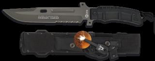Cuchillo K25 TACTICO.SFL.Funda. 20 cm