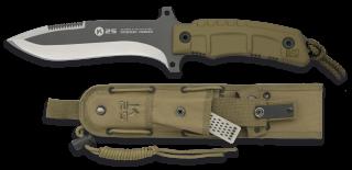 cuchillo K25 Coyote titanio. h:14.9