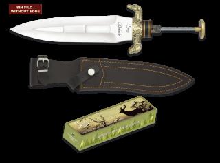 Cuchillo Rehala. Total: 38cm. C/Funda