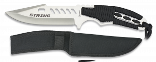cuchillo albainox con funda nylon.14.5cm