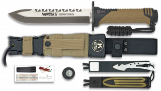 Cuchillo THUNDER II Camo Sand. h: 17