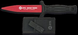 cuchillo K25 entrenamiento rojo. 12.5 cm