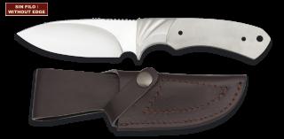 Cuchillo. Total 22.3 cm. C/Funda